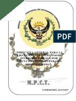 Directiva PIP MPCT- Sin Logo Editado