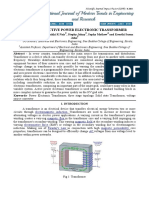 A Review on Active Power Electronic Transformer(1)