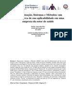 A Organização, Sistemas e Métodos