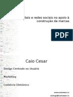 Mídias digitais e redes sociais no apoio à construção de marcas