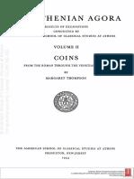 Agora_II Coins From the Roman Through the Venetian Period