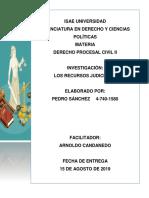 Recursos Judiciales Panamá