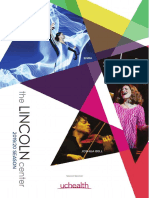 The Lincoln Center 2019/20 Season Brochure