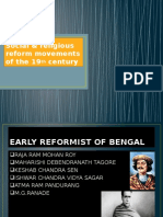 Social&Religious Reform Movements of the 19th Century