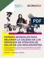 NORMAS MUNDIALES PARA MEJORAR LA CALIDAD DE LOS SERVICIOS DE ATENCIÓN DE SALUD DE LOS ADOLESCENTES.pdf