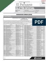 Boletin Oficial El Peruano 06/09/19