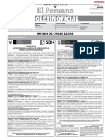 Boletin Oficial El Peruano 05/09/19