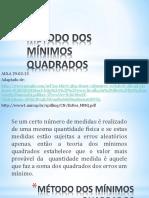 METODO DOS MINIMOS QUADRADOS.pdf
