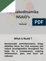 Farmakodinamika NSAID's t
