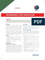 SOLIDWORKS Launch2019 DataSheet FlowSim