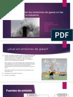 Como Controlar Las Emisiones de Gases en Las Empresas Industriales Final