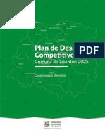 Plan de Desarrollo Competitivo Comuna de Licanten 2025
