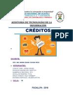 Trabajo Tics Creditos