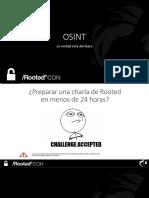OSINT_RootedCON_2018