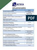 Calendario III y IV Trimestre Registro 2019 Modificado