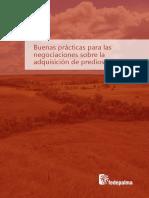 Libro Buenas Practicas Para Las Negociaciones Sobre La Adquisicion de Predios Rurales