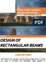 Ce510 -Design of Rectangular Beam and One-way Slab