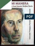 Libro a Mi Manera - Juan Antonio Medina