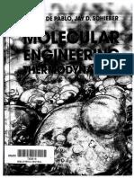 J. J. de Pablo AndJ. D. Schieber - Molecular Engineering Thermodynamics