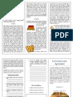 Lecciones que Aprender Leccion 1.docx