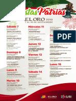 Fiestas Patrias El Oro Estado de México 2019