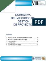 Normativa - VIIICGP