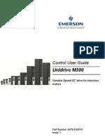 Manual unidrive Emerson M300