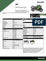 2013 Ninja 650 ABS Brochure