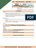 Agosto - 2do Grado Artes (2019-2020)