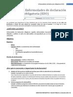 S2 - Enfermedades de Declaración Obligatoria EDO