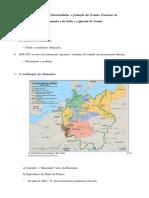 A Formação da Alemanha e da Itália