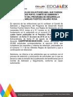 Salario Rosa Edomex 2019 Resultados Agosto