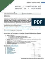 E50- Prótesis y Rehabilitación Del Paciente Amputado de La Extremidad Superior (T40)