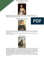 Biografías de Mujeres Ecuatorianas