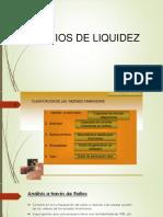Ratios de Liquidez - Análisis
