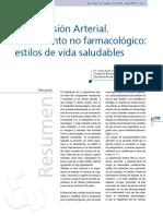 Hipertension Arterial Tratamiento No Farmacologico 2005