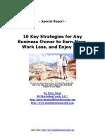 10 Key Strategies