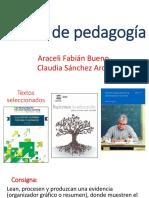 Temas de pedagogía