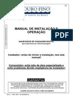 Manual de Instalação e Operação Aquecedor de Passagem Digital Rev.02