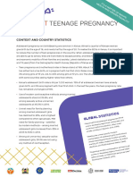 Kenya Teen Pregnancy Fact Sheet