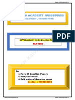 12th Quarterly Maths model question paper.pdf