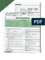 IOS Class 9 2009