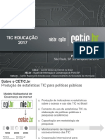 TIC EDUCACAO RESULTADOS