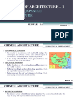 History of Architecture - MODULE 3.1