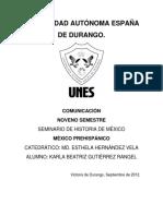 Epoca prehispánica de México