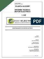 Ot 2188-Its-motor Freno 1.1hp Alicorp