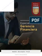 Especializacion en Gerencia Financiera