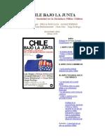 CHILE BAJO LA JUNTA Economia en Dictadura Mattelart y Otros