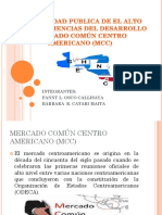 Expo Mercado Común Centro Americano (Mcc)