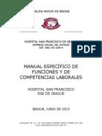 Acuerdo Ajuste Manual Hsf